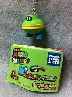 """Japan Gashapon """"Super Mario 3D Land"""" Enemy Mini Figure - MONEYBAG"""