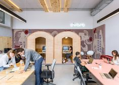 the airbnb office in so paolo by mm18 airbnb london officesview project