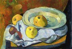 Plate of Apples - Paul Serusier c. 1891