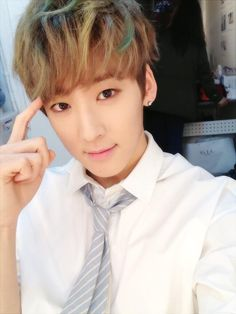 Kevin! KissMes are always on his mind! (^^)