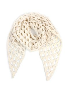TOFT Triangle Cut Out Shawl Crochet Kit Edwards Menagerie ba4ff3283bfa