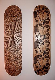Lazer Engraved SkateBoards