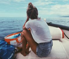 Image about girl in Summer vibes 🌞🌊 by Ulrika Summer Goals, Summer Of Love, Summer Fun, The Beach, Beach Bum, Summer Pictures, Cute Pictures, Boating Pictures, Pic Tumblr