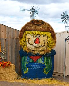 1000 images about fall haybale decorations on pinterest for Bales of hay for decoration