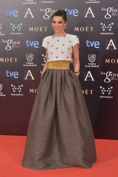 Irene Visedo wearing Tot-Hom and @carreraycarrera jewels – Goya Cinema Awards #2014