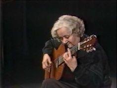 Rare Guitar Video: Maria Luisa Anido plays Mozart's Minuet