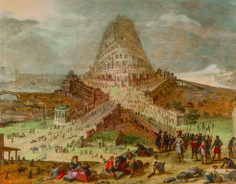 For Kunsthandel P. de Boer, the closing hours of the fair proved very positive, seeing gallery sell one of its major works, a representation of the Tower of Babel.