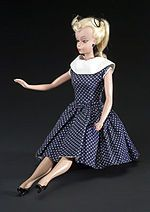 March 9th 1959 - Barbie Debuts  March 9th 1959 - Barbie Debuts    Do you know the REAL history behind the iconic Barbie doll? Would you believe she was fashioned after the German Bild Lilli doll? Lilli was a German post-war, sassy and ambitious cartoon character that had no reservations talking about sex.    Visit Awakenings for the behind the scenes story of the global iconic Barbie doll...   http://www.awakenings2012.blogspot.com/2013/03/barbie.html