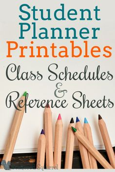 Highschool and College students have to keep track of a lot of information, not just in class but about their classes as well. These class schedule and reference sheets printables will make a great addition to a student planner. college student tips Class Schedule College, College Planner, College Classes, College Life, Coe College, College Notebook, Oxford College, Weekly Planner, College Essentials