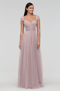 Watters Bridesmaid Dress Candy in Burnished Lilac