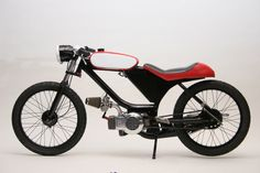 Step Your Game Up - Built from the ground up by Motomatic Mopeds. More here: http://www.motomaticmopeds.com/peds.html