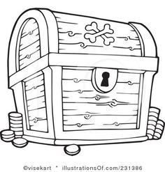 1000 images about sontreasure island vbs on pinterest for Treasure chest coloring pages printable