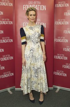 Sarah Paulson wearing LUCY to the SAG-AFTRA Foundation conversation in Los Angeles