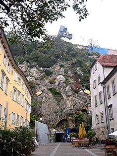 Quite a hike, but worth visiting if you ever make it to Graz, Austria. Oh The Places You'll Go, Places Ive Been, Places To Visit, Beautiful World, Beautiful Places, Amazing Places, Graz Austria, Provence France, City Landscape