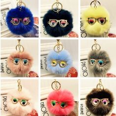 Who& your Spirt POM POM? Loving these little fur ball babies? Which color is your fave? Let me know by messaging me and I& make sure that your fur BAE is in stock ! Key Card Holder, Craftsman, Crafts For Kids, Skull, Spirit, Kawaii, Charmed, Babies, Drop Earrings