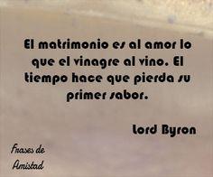 Frases de aniversario de Lord Byron