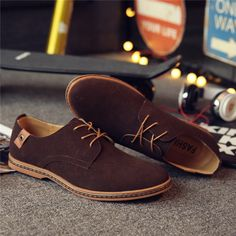 Suede Leather Casual Shoe