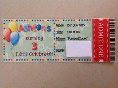The invitations...