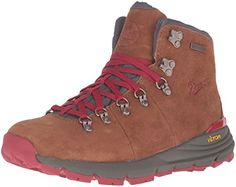 Danner Womens Mountain 600 45 Hiking Boot BrownRed 75 M US >>> Check out this great product.