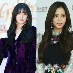 Red velvet irene and blackpink jisoo Red Velvet Irene, Pink Velvet, Blackpink Jisoo, Crown, Fashion, Moda, Fashion Styles, Fashion Illustrations, Crowns