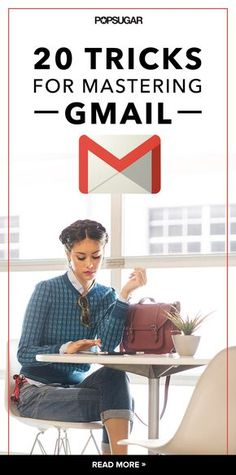 - 20 Life-Changing Gmail Tips and Tricks Gmail& best features are tucked away in its nooks and crannies, meaning there are endless tricks you might not know about. Check out 20 essential pointers, and then add your own in the comments. Business Tips, Online Business, Computer Help, Computer Tips, Computer Basics, Computer Projects, Computer Keyboard, Gmail Hacks, Tips And Tricks