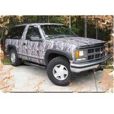 Mossy Oak Bottomland Looks Sweet Get Your Truck Wrap At