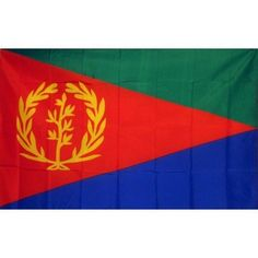 Eritrea Country Traditional Flag