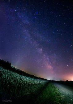 【画像】北海道で撮った「天の川」が凄すぎる件 : 暇人\(^o^)/速報
