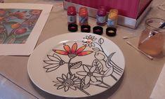 Google+-fotó – Porcelánfestés Google, Plates, Tableware, Design, Licence Plates, Dishes, Dinnerware, Griddles, Tablewares