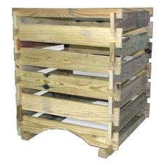 Bosmere 58 Gallon Country Wood Compost Bin