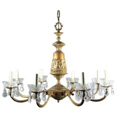 Large  Putti  Chandelier