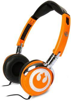 Star Wars Rebel Pilot Headphones
