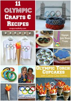 11 Olympic Crafts & Recipes