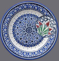 Discover the Top 25 Most Inspiring Rumi Quotes: mystical Rumi quotes on Love, Transformation and Wisdom. Moroccan Art, Turkish Art, Turkish Tiles, Ceramic Plates, Ceramic Art, Decorative Plates, Decorative Bottles, Dot Art Painting, Pottery Painting
