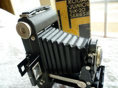 Kodak Junior Six-20 Series 3 camera with box by classy10 on Etsy