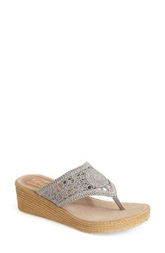 Sbicca 'Huntington' Wedge Sandal (Women) available at #Nordstrom