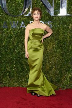 Bernadette Peters in Zac Posen. See what everyone wore to the 2015 Tony Awards.