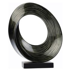 Hebi Arts 15 in. Circle Sculpture - LPSC001-S
