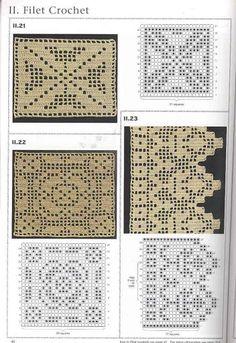 puntos de crochet (incluye tunesino) - Isabel Cristina Mejia - Álbumes web de Picasa