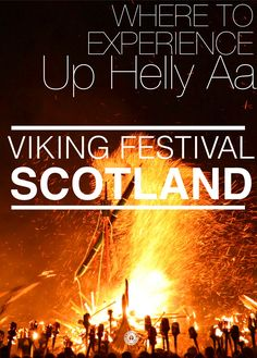 How To See An Authentic Viking Festival And Cute Ponies In Scotland - Hand Luggage Only - Travel, Food & Home Blog