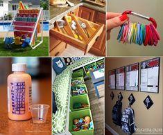 "30 ""Ah-Ha"" Organization Tips, Tricks, And Ideas"