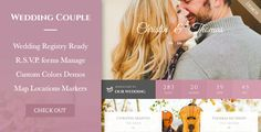 Wedding Couple - Love Page For Wedding Cerimony WP - Wedding WordPress