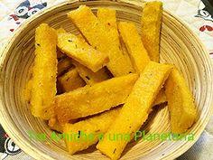 Patatine di polenta Polenta, Carrots, Gluten Free, Vegetables, Food, Glutenfree, Essen, Carrot, Sin Gluten
