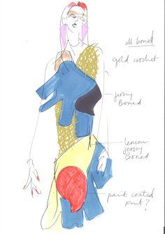 The New MA Graduates: Matty Bovan #csm #centralsaintmartins #magraduates #1granary #designs #fashion