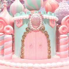 Baby Pink Aesthetic, Aesthetic Colors, Aesthetic Pictures, Pastel Pink, Pastel Colors, Hansel Y Gretel, Candy House, Cute Desserts, Candy Party