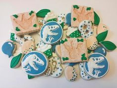 Jurassic World Birthday Cookies by FlavorFavor