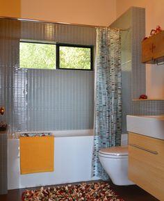 Bathroom Tile Design Ideas with modwalls glass mosaic tiles, glass subway tiles, tile blends, porcelain tiles and pebble tiles Glass Subway Tile, Glass Mosaic Tiles, Pebble Tiles, Bathroom Tile Designs, Bathroom Layout, Dream Bathrooms, Beautiful Bathrooms, Bath Remodel, Bathroom Inspiration