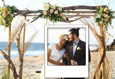 XXL Fotorahmen Polaroid für traumhafte Hochzeitsfotos von wall-art.de