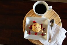 Cranberry Orange Muffin 1