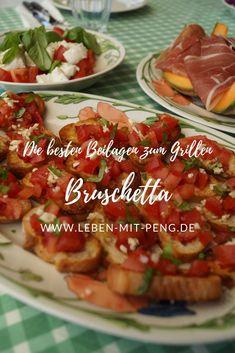 Bruschetta, Snacks, Eat Smarter, Parmesan, Nom Nom, Grilling, Beef, Angels, Italy